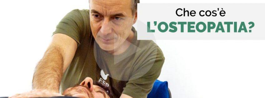 Osteopata Massimo Valente - Che cos'è l'osteopatia
