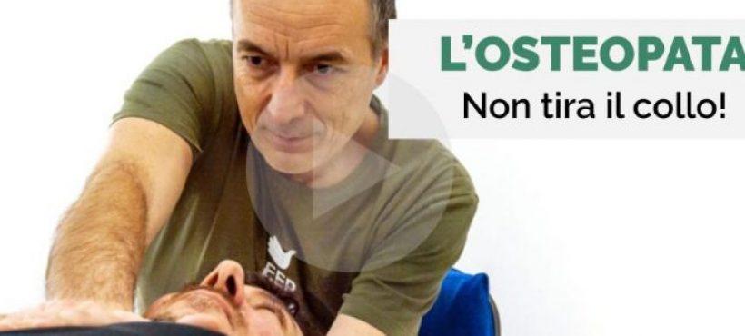 L'osteopata non tira il collo! - Osteopata Massimo Valente